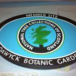Plaque for Dawyck Botanic Garden
